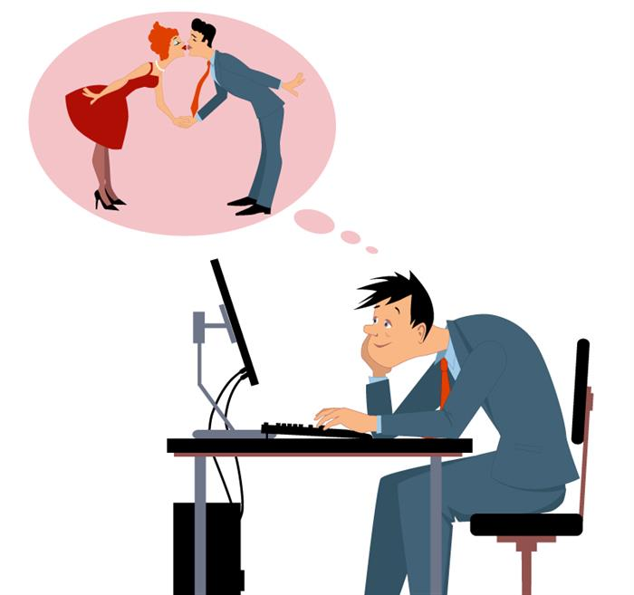 Flirter au travail